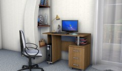 Стол компьютерный СК-100 ЛДСП