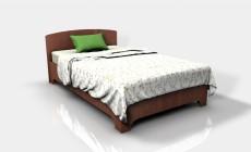 Кровать 1,2 Феникс Ф (Фрезерованная)