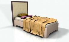 Кровать 0,9 Леон М Люкс (основание)