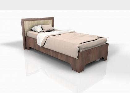 Кровать 0,9 Леон Ф (фрезерованная)