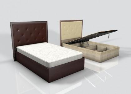 Кровать 1,2 Леон М Люкс (лифт)