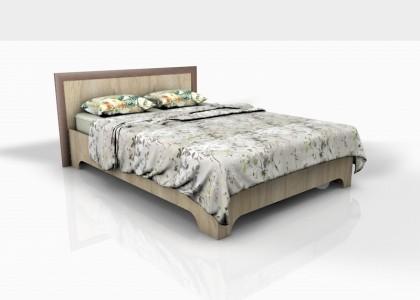 Кровать 1,4 Леон Ф (Фрезерованная)