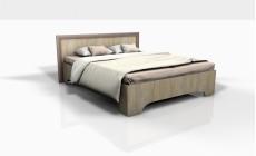Кровать 1,6 Леон Ф (Фрезерованная)