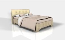 Кровать 1,4 Версаль Ф (Фрезерованная)
