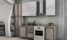 Кухня Лаура 2,1 м. рамочные + МДФ
