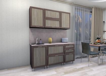 Кухня Мишель 1,7 м. рамочные