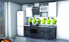 Кухня Рубин 1,6 м. МДФ