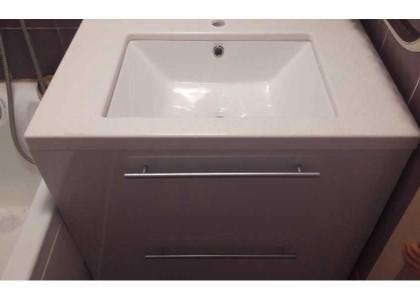 Подстолье в ванную столешница камень