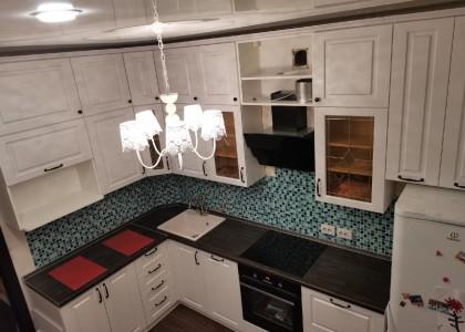 Кухня угловая МДФ Неоклассика
