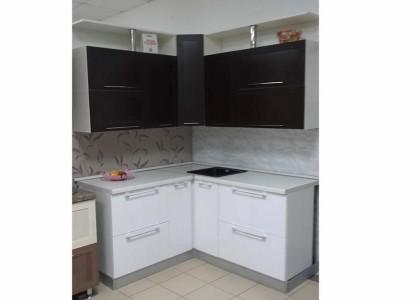 Кухня рамочные Венге + МДФ Белый глянец