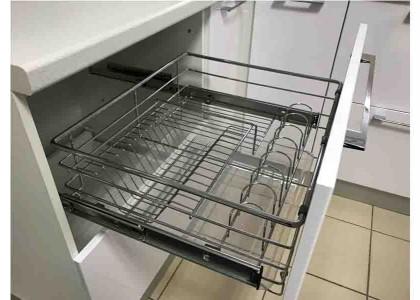 Кухня сушилка для посуды в рабочем столе