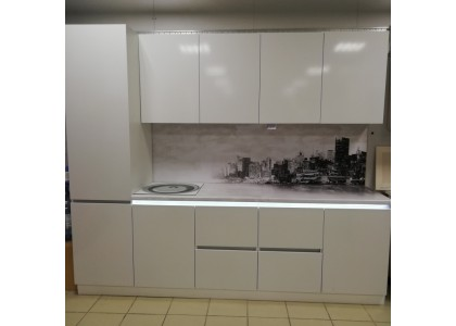 Кухня с подсветкой МДФ (Тольятти)