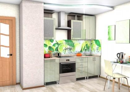 Кухня Герда 1,6 м. МДФ