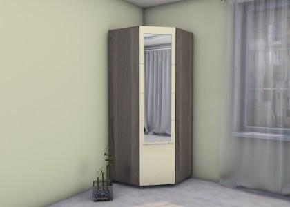 Шкаф угловой Гамма с зеркалом