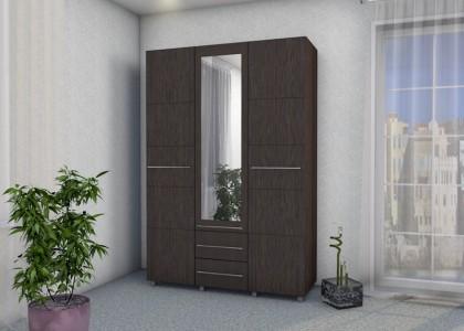 Шкаф Гамма 1,5 с зеркалом