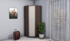 Шкаф угловой Версаль 0,9 б/з рамочные