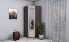 Шкаф угловой Версаль 0,9 с/з рамочные