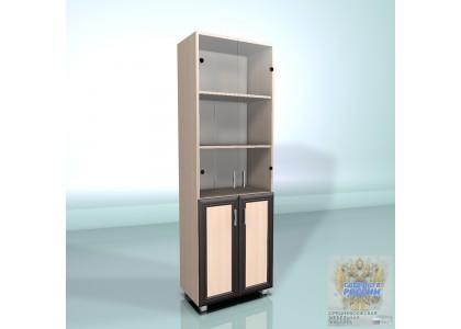 Стеллаж высокий со стеклом 600 (СВС-60) рамочные